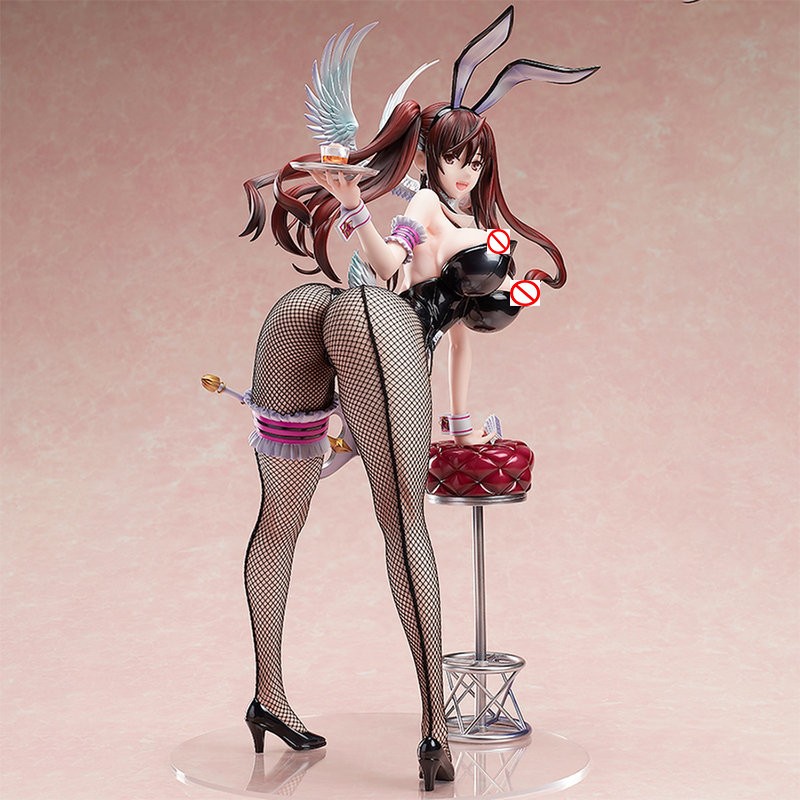 BINDING NATIVE RAITA MAGICAL GIRL SERIES ERIKA KURAMOTO BUNNY Ver. PVC ACTION FIGURE STATUE ANIME <font><b>SEXY</b></font> GIRL FIGURE MODEL TOYS image