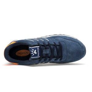 Image 2 - Valstone Mannen Lente Sneakers Echt Lederen Zomer Mocassin Waterdichte Rubberen Antislip Schoenen Comfortabele Lopen Schoenen Grijs Blauw