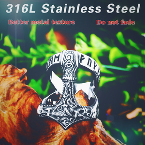 Байер, нержавеющая сталь, норвежский викинг, нордический миф, Тор, молоток, высокое качество, модное кольцо, опт, модное ювелирное изделие, ...