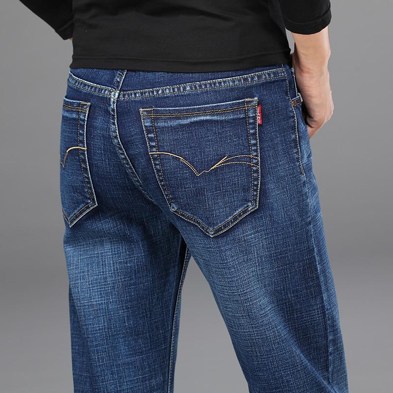 Hd50f65523f1b424fb44f0257eeb35dd0U - 2020 New Design Jeans Mens Pants Cotton Deniem Classic Trousers Casual Stretch Slim High Quality Black Blue Multiple Styles