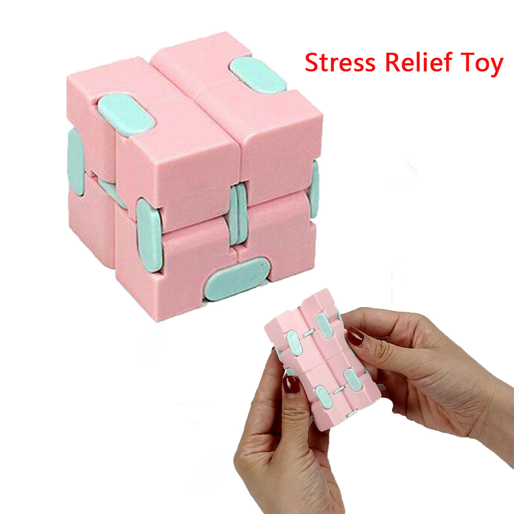 Fidget-Toys Antistress-Toy Decompress Fingertips Puzzle Magic Square Lightweight Portable