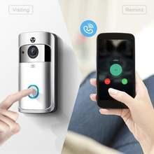 Беспроводной ip видеодомофон wi fi дверной звонок для квартир