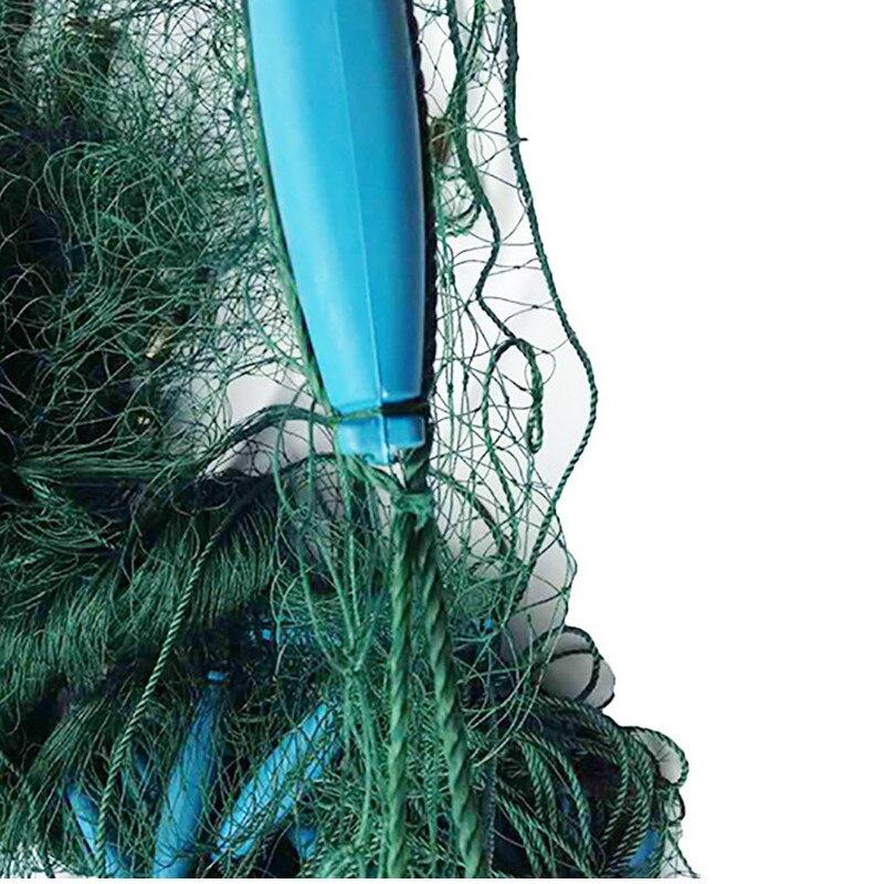 10m rede de pesca 40mm malha rede