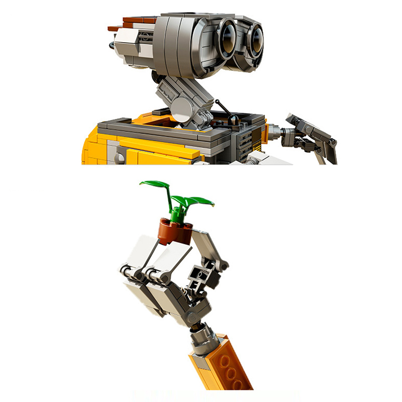 Robot Wall-E Building Blocks Toy 10
