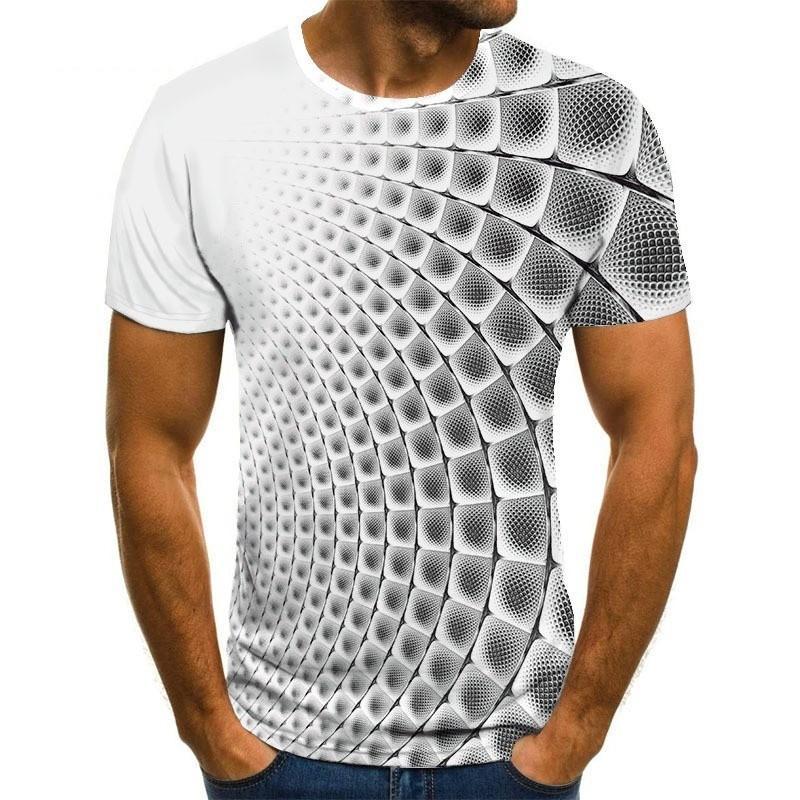 Футболка Мужская/женская с 3d-графическим принтом, модная индивидуализированная рубашка, Повседневная Уличная одежда, несколько цветов, на ...
