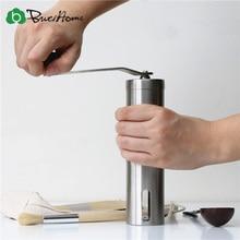 Portátil moedor de aço inoxidável máquina café do agregado familiar manual moedor pimenta moinho café doméstico cozinha moagem ferramentas