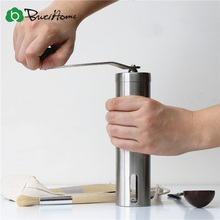 Portable Stainless Steel Grinder Household Coffee Machine Manual Pepper Grinder Coffee Mill Domestic Kitchen Grinding Tools