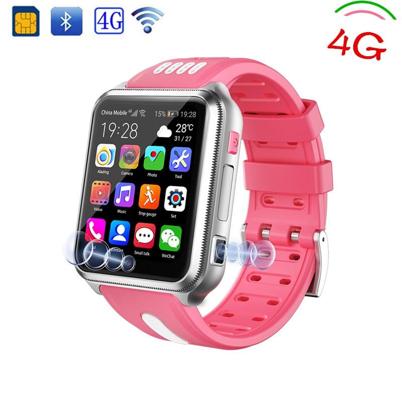 GPS Children Smart Watch 4G Support SIM Card Phone Digital Watch Camera Students Kids Watch Baby SOS Boy WristWatch Girl Gift