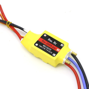 Image 5 - 1pcs 2 6S 30A/50A/80A/100A/200A ESC 5V/3A 5V/5A UBEC Brushless Speed Controller ESC For RC Boat UBEC 200A/S
