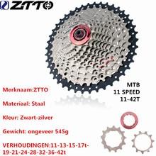 ZTTO 11 s 22 Speed Freewheel Cassette MTB Mountainbike Fietsonderdelen 42 t Compatibel voor Onderdelen m7000 M8000 M9000 XT