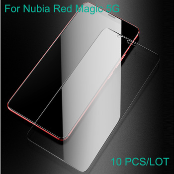 10PCS For Nubia Red magic 5g Glass Tempered Cover Tempered Glass Film Red magic 5g Protection Screen Protector Protective Film