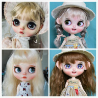 Pre sale customization doll joint body Nude blyth doll For Girls NO.20190925