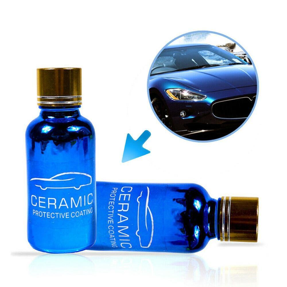 9H Car Oxidation Liquid Ceramic Coat Super Hydrophobic Glass Coating Set Polysiloxane And Materials Care Multicolor
