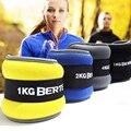 2 pces/1 par 1kg perna ajustável tornozelo pesos correias treinamento de força exercício equipamentos de fitness para correr basquete futebol