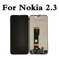 Nokia 2.3 LCD ekran için orijinal ekran dokunmatik Panel Digitizer için Nokia2.3 TA-1214 TA-1206 TA-1209 TA-1211 ekran