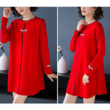 Women Sweater Dress Plus Size
