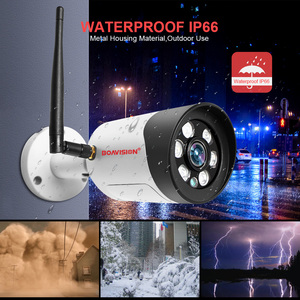 Image 5 - HD 1080P 5MP Wifi IP Camera Outdoor Wireless Onvif Full Color Night Vision CCTV Bullet Security Camera TF Card Slot APP CamHi