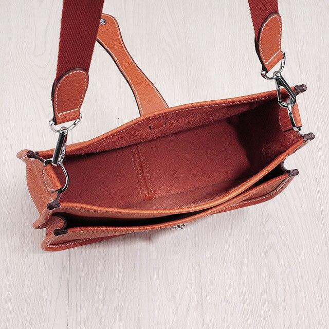 2020 new women's bag Luxury design handbags  original lychee pattern shoulder messenger bag  Leather handbag