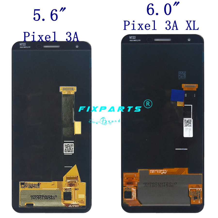 Google Pixel 3A XL LCD Display Touch Screen Digitizer Assembly