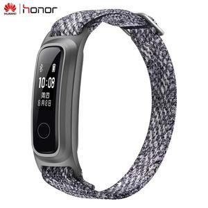 Image 4 - Смарт браслет Huawei Honor Band 5 с пульсометром и металлическим ремешком