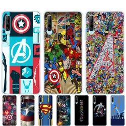 На Алиэкспресс купить чехол для смартфона silicon cover case for huawei p40 lite e p40 pro cover for huawei y7p y5p y6s y9s nova 5t the avengers marvel captain america