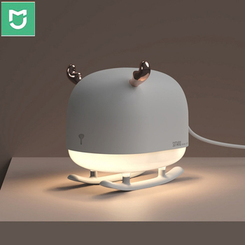 Youpin mijia Sothing Deer Air Humidifier USB Charge Mini Portable Air Purifier With Ambient Night Light Ultrasonic Diffuser