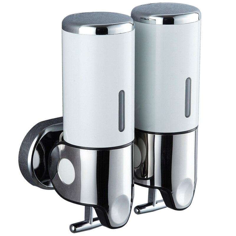 Image 5 - 500ml Liquid Soap Dispenser Wall Mount Bathroom Accessories Hand  Sanitizer Detergent Shampoo Dispensers Kitchen Soap BottlePortable Soap  Dispensers