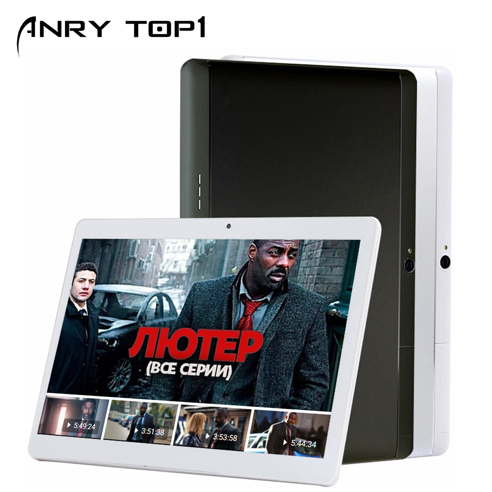 ANRY-101 Newest 10 Inch Tablet Android 7.0 Quad Core 4GB RAM 32GB ROM 3G Wifi Bluetooth GPS Phone Call 3G Tablet Pc