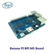 Banana pi bpi m5 nova geração única placa de computador amlogic s905x3 design