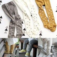 1-6Y Autumn Winter Newborn Toddlers Kids Baby Girls Leggings Star Print Cotton Tights Thin Pantyhose Stockings