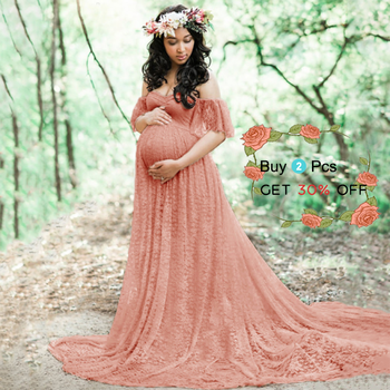 Maternity Photography Props Pregnancy Dress Photography Maternity Dresses For Photo Shoot Pregnant Dress Lace Maxi Gown S - XL maternity photography props pregnancy dress photography maternity dresses for photo shoot pregnant dress lace maxi gown s xl