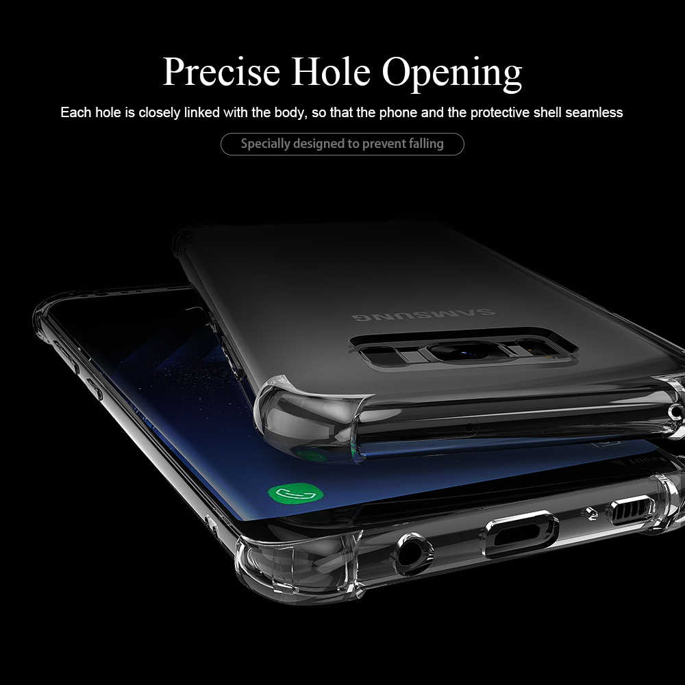 Shockproof Case for Samsung Galaxy S10 Plus S10E S8 S9 Plus S7 Edge Clear Silicone Phone Case for Samsung Note 10 9 8 Back Cover