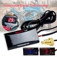 Универсальный цифровой датчик температуры мотоцикла Датчик температуры воды для KOSO Yamaha Xmax NMAX BWM Kawasaki подсветка дисплея