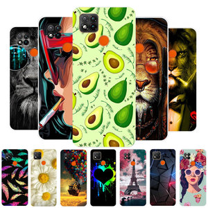 Case For Redmi 9C NFC Phone Case Soft Silicone TPU Back Cover For Fundas Xiaomi Redmi 9C 9 C Redmi9C NFC Case Protective 6.53