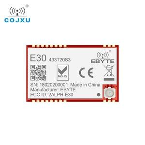 Image 2 - Si4438 433mhz rf módulo tcxo ebyte E30 433T20S3 smd, transmissor sem fio, alcance longo de 100mw 2500m ipex conector