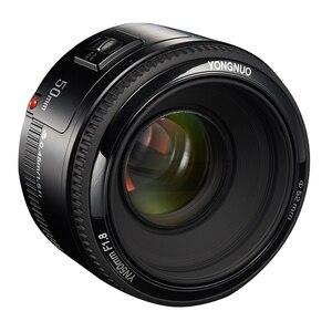 Image 2 - Objectif de caméra YONGNUO YN EF 50mm f/1.8 objectif AF 1:1.8 objectif Standard à ouverture automatique pour les appareils photo reflex numériques Canon EOS