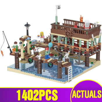 Lepining 16050 Creative Toys Compatible With 21310 Old Fishing Store Building Blocks Bricks Assembly Kids Kids Christmas Gifts