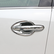 цена на ABS Chrome Auto Door Protector Handle Decoration Cover Trim Car Styling 8pcs For Mazda 6 Atenza 2013-2017 Accessories