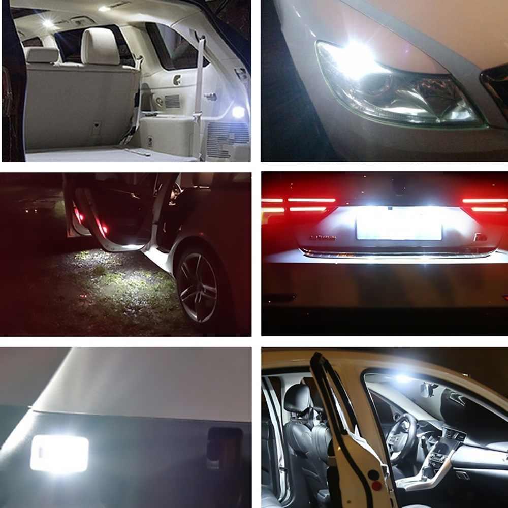 10 pièces voiture style Auto LED T10 Canbus 194 W5W 5050 5 lumière LED smd ampoule pas d'erreur lumière LED Parking côté lumière 12V pour Opel Astra H J G Corsa Insignia D C B Omega Zafira