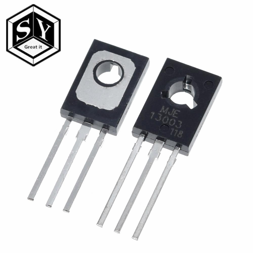 50Pcs MJE13003 E13003 13003 TO-126 Transistor  H4s4