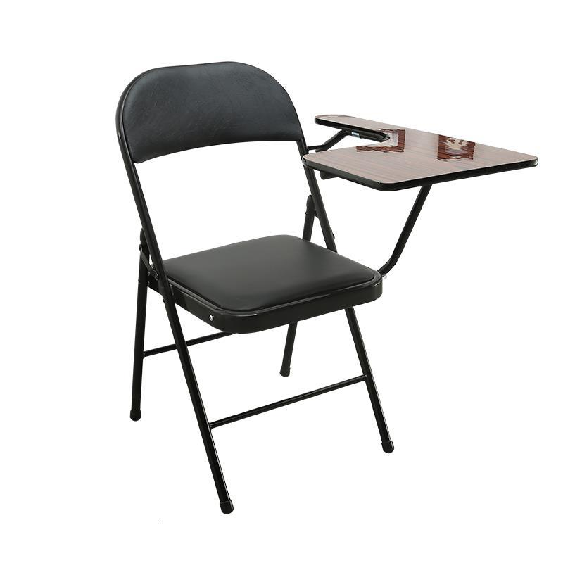 Jefe Alta Calidad Conferencia Cadeira Com Escrita Meeting De Silla Oficina Sedie Moderne Pieghevoli Folding Chair With Board