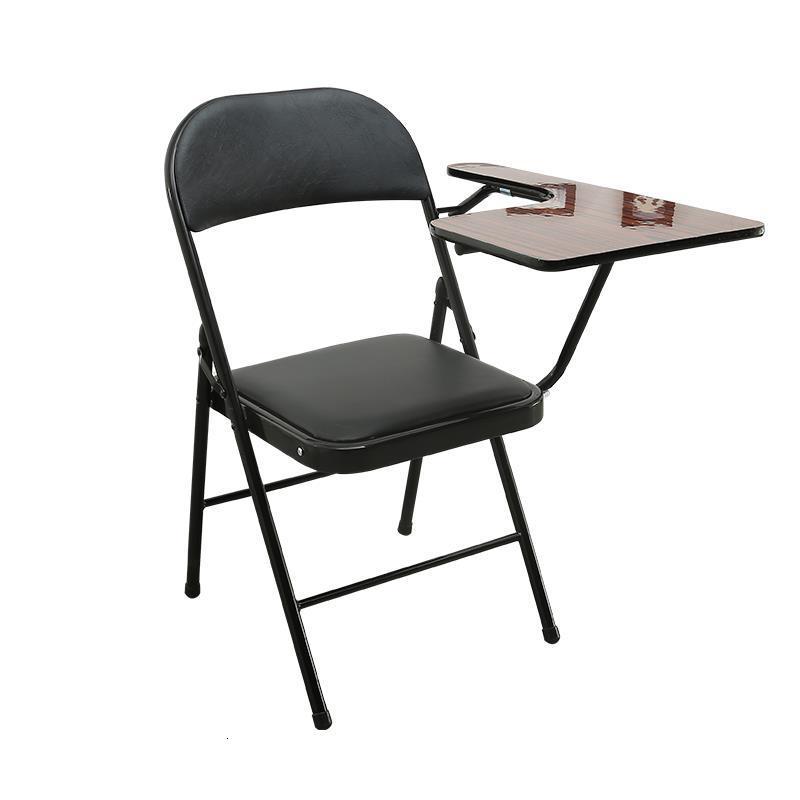Jefe Alta Calidad Conferencia Cadeira Com Escrita Meeting De Silla Oficina Sedie Moderne Pieghevoli Folding Chair With Board