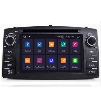 Android 9.0 4+64G 2 Din Car Radio Car DVD Player For Toyota Corolla E120 BYD F3 2000 2003 2005 2006 Multimedia GPS Navigation