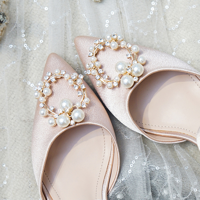 Girls Ivory satin Bridesmaid//Xmas//Party Shoes Size 2 Brand new in box