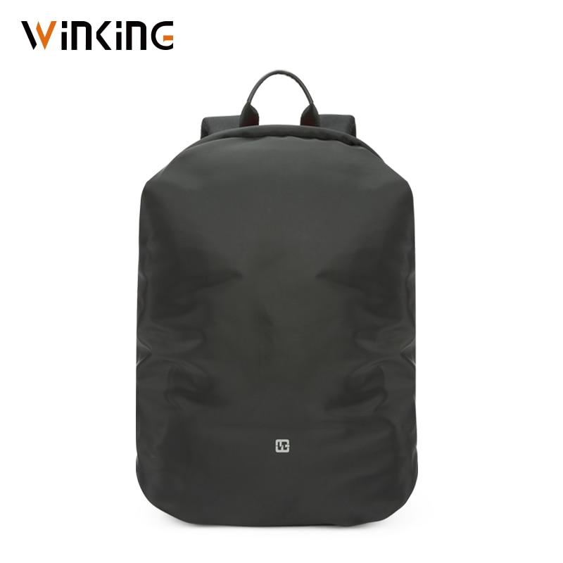 Kingsons Hidden Anti Theft Zipper 15.6 Inch Men School Laptop Backpack Water Repellent Travel 20L Multi USB Charger Male Mochila