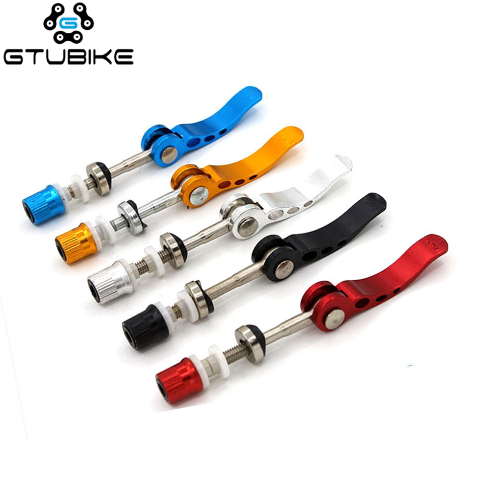Bicycle Quick Release Aluminium Bike Seat Post Clamp Seatpost Mountain Bike Seat Tube Clamp Bicycle Accessories