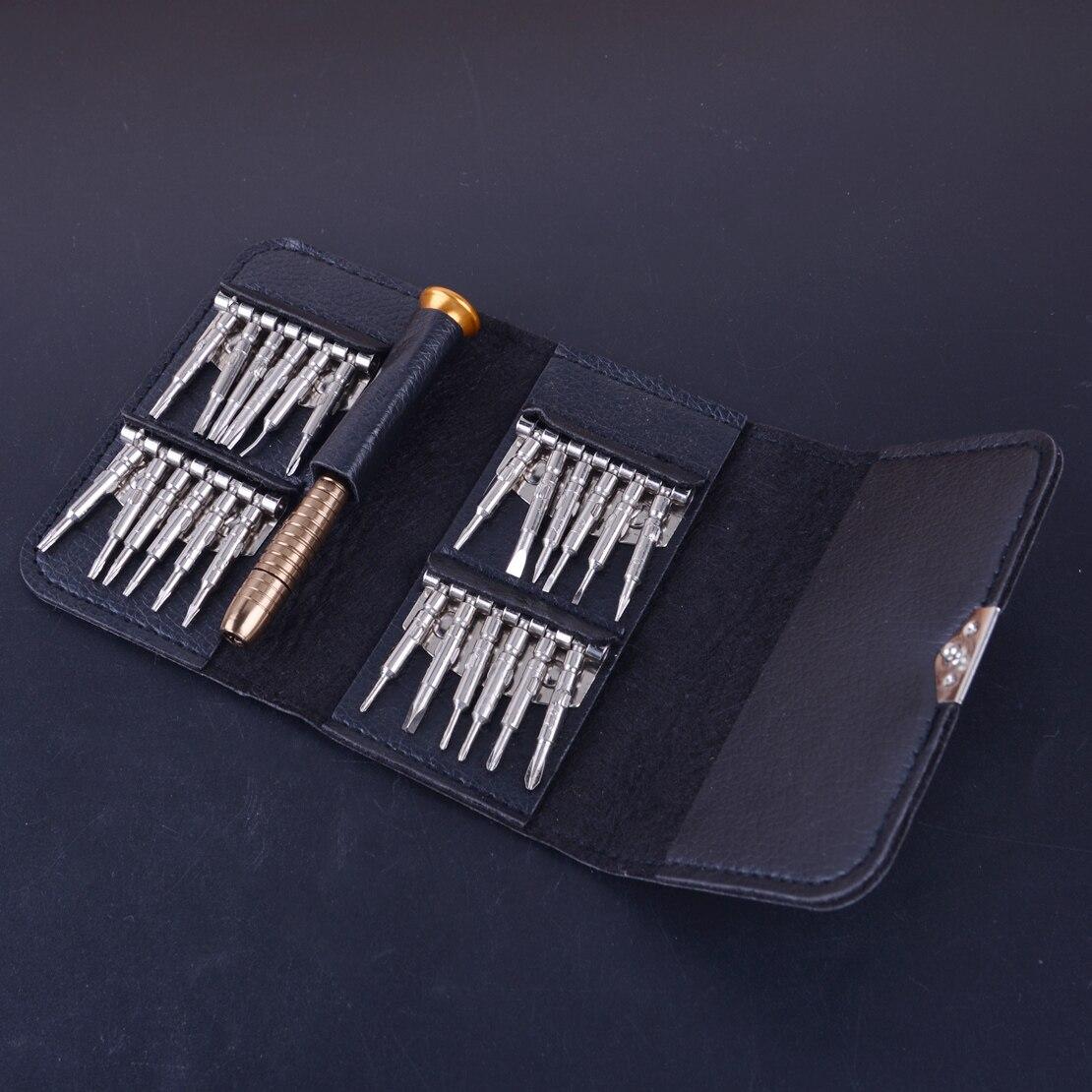 25 in 1 45# Steel Screwdriver Mini Repair Precision Tools Kit Set Bag fit for DJI Mavic Pro Phantom Spark