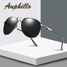 Mens Sunglasses Luxury Brand Designer Classic Retro Pilot Men Polarized Driving Glasses UV400 gafas de sol hombre