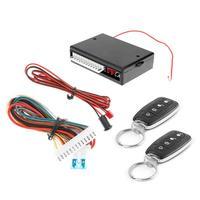 Car Remote Central Door Lock Keyless Entry Alarm System Locking Kit Waterproof Controller Universal Automobiles Accessories