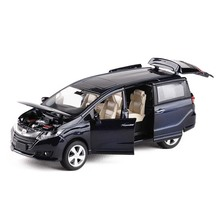 1:32 Honda Odyssey Fonde Sotto Pressione Veicoli Giocattolo Modello di Auto Con La Luce Del Suono Auto Giocattoli Per Il Ragazzo Regalo Collection Spedizione Gratuita
